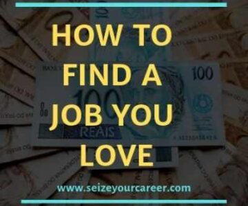 Find a Job You love in 2020