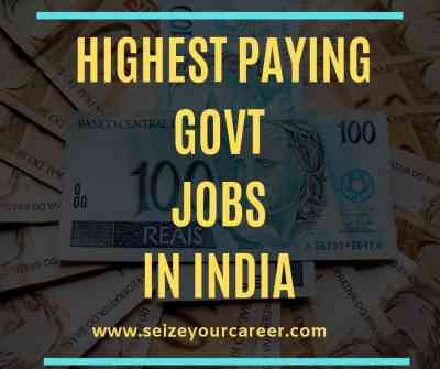 Govt Jobs 2020 | Highest-Paying Government Jobs