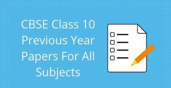 Download CBSE Board Class 10th Science Question Paper 2019