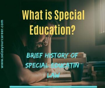 A Brief History of Special Education Law