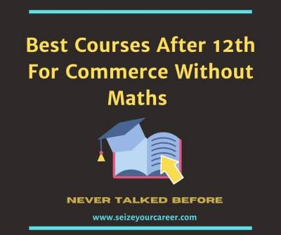 Best courses after 12th for commerce without maths