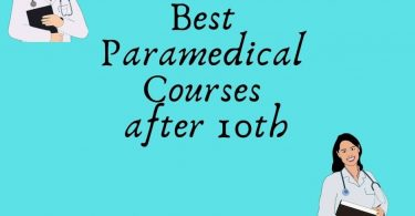 Paramedical courses after 10th