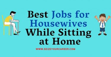 Jobs for Housewives Sitting at Home